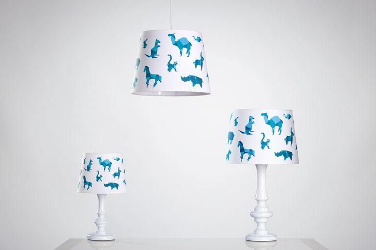 Zestaw designerskich lamp idealnych do pokoju małego chłopca:)
