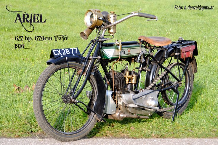 Ariel 6/7 hp. 670ccm Twin 1916