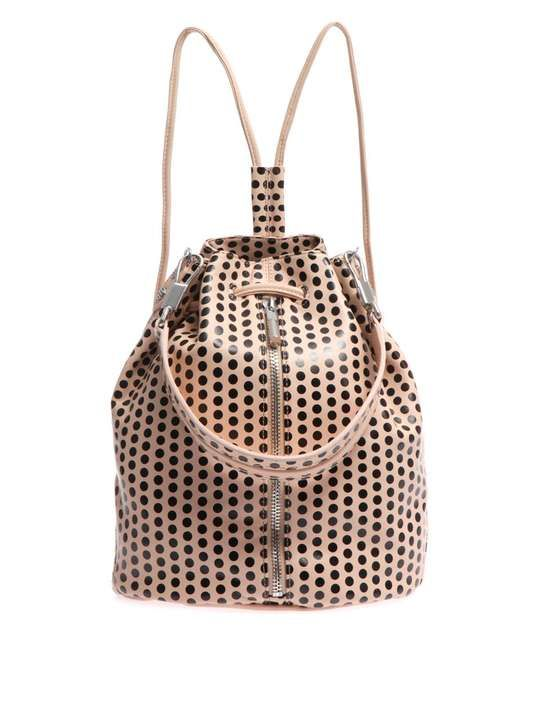 Love the Elizabeth And James Cynnie polka dot backpack on Wantering. #backpacks #style