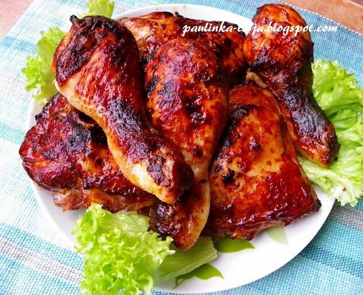 Kurczak pieczony w coca-coli