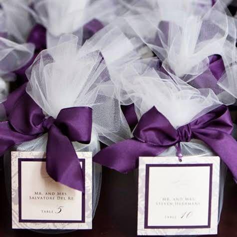 Purple Wedding favors                                                                                                                                                                                 More