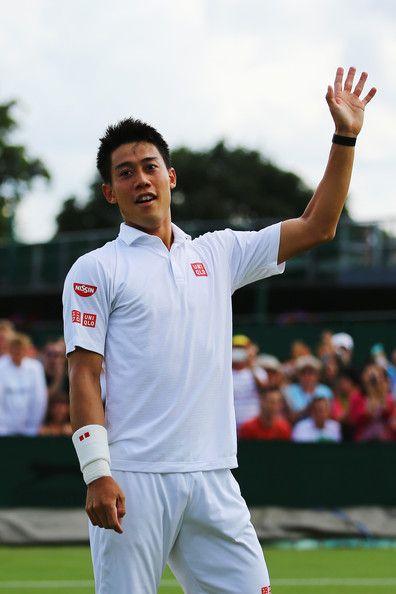 Kei Nishikori Photos - Wimbledon: Day 7 - Zimbio