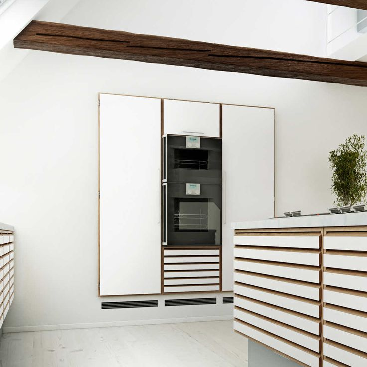 Classic oak kitchen | uno form's C-Range kitchen in oak