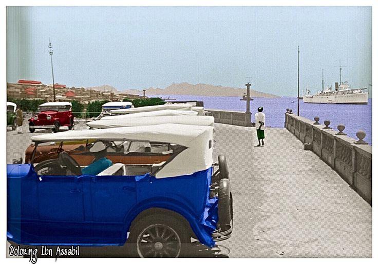 #aden #yemen  Aden photos old Aden steamer point  Coloring by Aden Ibn Assabil 