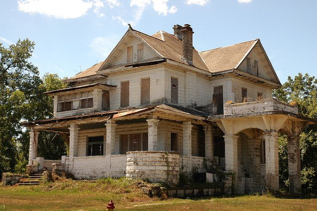Bridges-McKellar House in Shreveport, Louisiana, USA. Built in 1885. Another historic home at the top of Louisiana's endangered list.