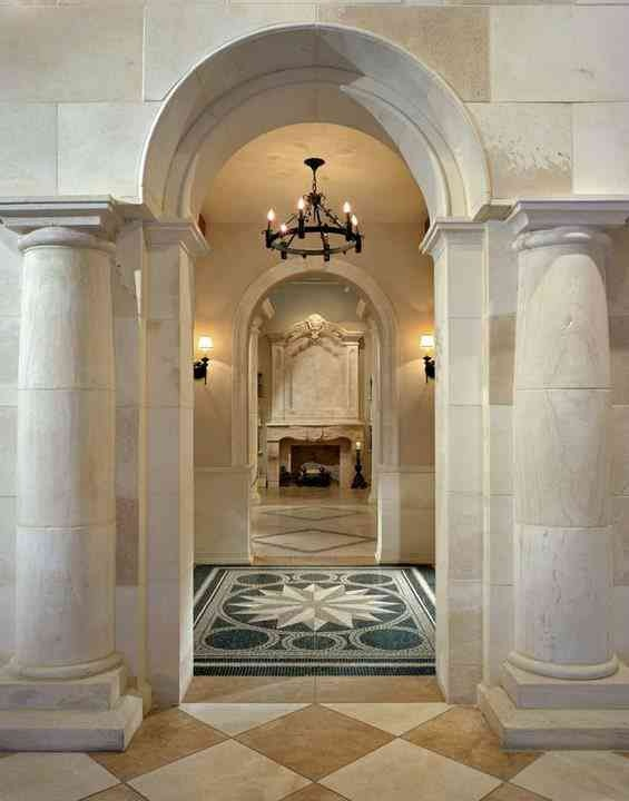 Interior Stone Columns : Best interior columns images on pinterest
