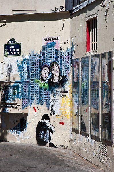 rue de la Butte-aux-Cailles - Paris 13e