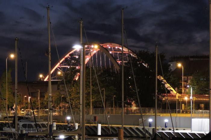 Most portowy