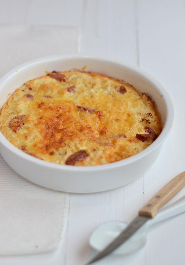 Zuurkool Frittata - Uit Pauline's Keuken