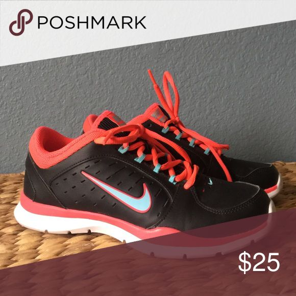 ... official images of 863a1 8bd10 Shop Womens Nike Black Red size Athletic  Shoes at a discounted ...