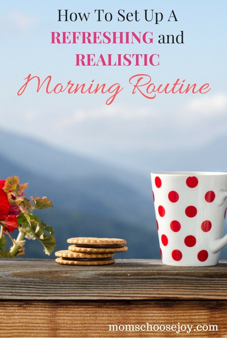 Do you wish you could wake up every morning feeling REFRESHED, RELAXED, and READY to start the day? This is a must read for any mom in need of a REFRESHING and REALISTIC morning routine.