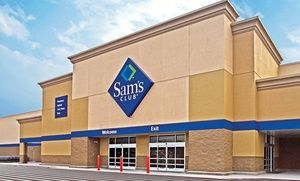 Groupon - $ 45 for a One-Year Sam's Club Membership, $20 Gift Card, and Fresh-Food Vouchers ($85.14 Value) in On Location. Groupon deal price: $45