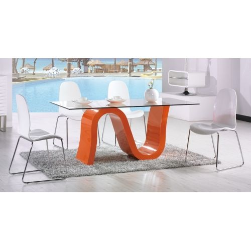 The Nero Dining Table Has A Serpent Shaped Base That Comes In White  Lacquer. Top