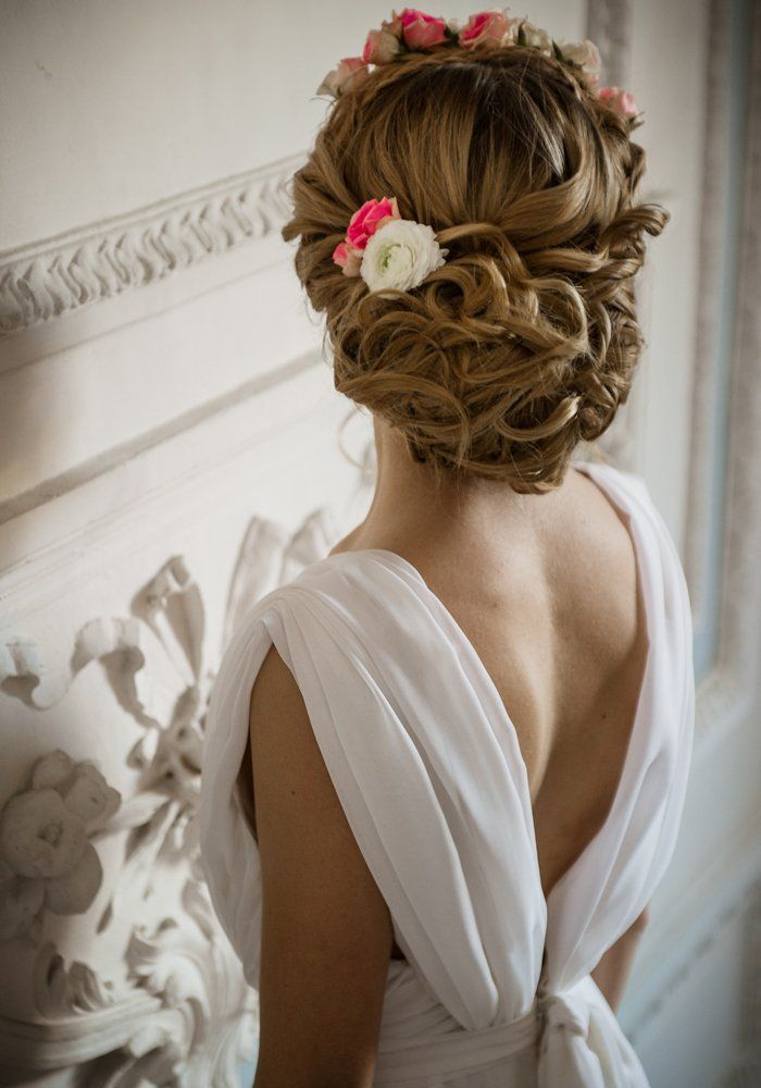 17 best images about coiffure mariage wedding hairstyle. Black Bedroom Furniture Sets. Home Design Ideas