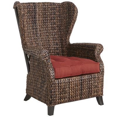 Graciosa Wing Chair - Brown $329 on sale $289