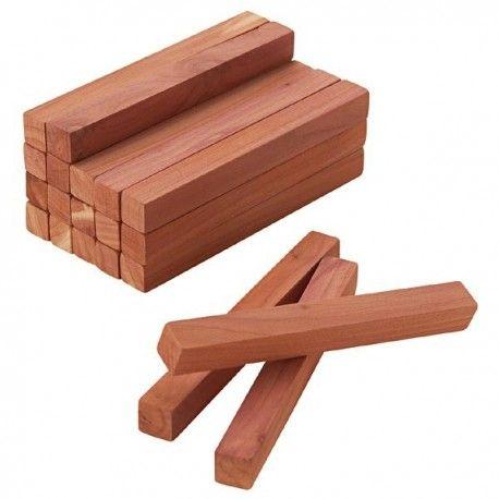 Klocki z drewna cedrowego 20 szt.