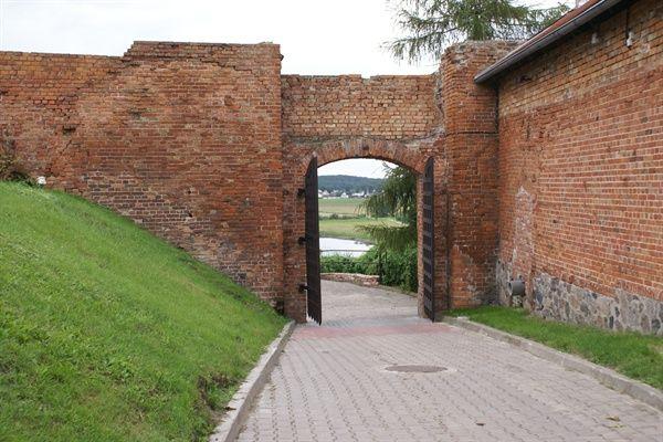 Gniew - Miejskie mury obronne