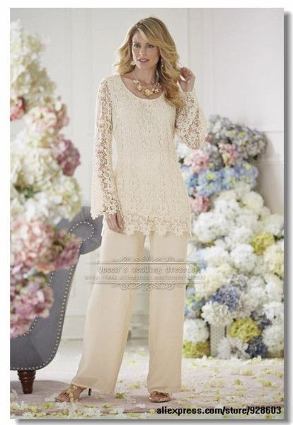 Free shipping, $101.31/Piece:buy wholesale Mother of the Bride Pant Suits 2015 Custom Made Vintage Formal Plus Size Capped with Long Sleeves Chiffon Lace Dresses for Weddings from DHgate.com,get worldwide delivery and buyer protection service.