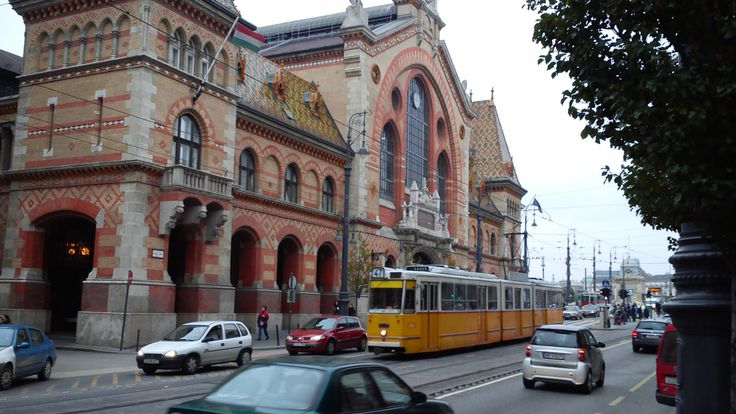 #Tram No. 47 at Fővám Square in #Budapest