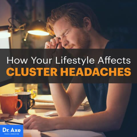 Cluster headaches - Dr. Axe