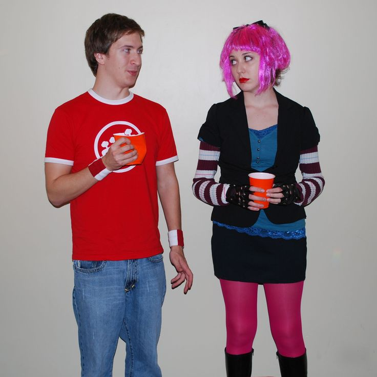 scott pilgrim vs the world costume - Google Search