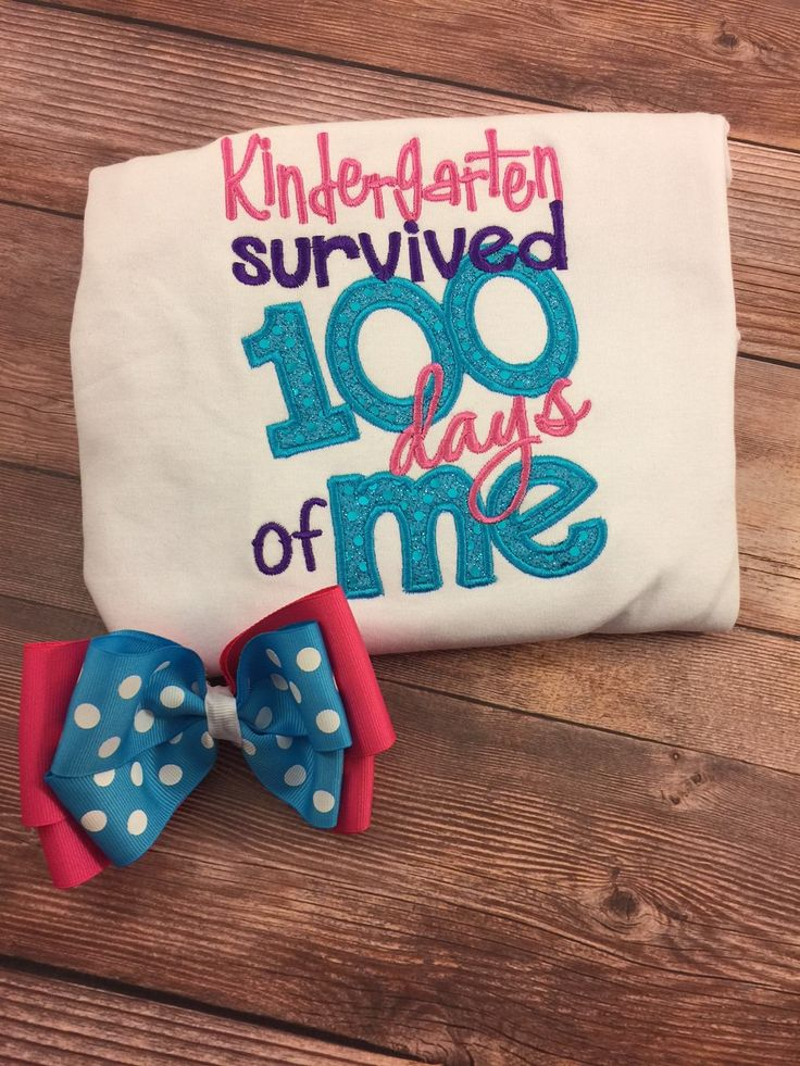 100th Day School Shirt;100 Days Of School;Kindergarten Shirt;1st Grade Shirt;Embroidered Shirt;Girls 100th Day;Preschool Shirt;Ruffle Shirt by SweetpeasBowsNmore on Etsy