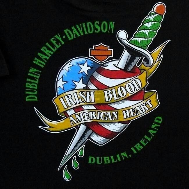 IRISH BLOOD, AMERICAN HEART ♥ ♥ Dublin Harley Davidson ...