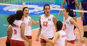 volleyball world grand prix sede México DF del 25 al 27 de julio