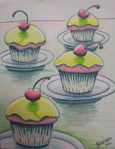 Cupcake Art Lesson : 118 best images about cupcake art on Pinterest Cupcake ...