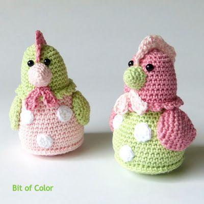 Bit of Color: De overeenkomst tussen bloesem en kippetjes