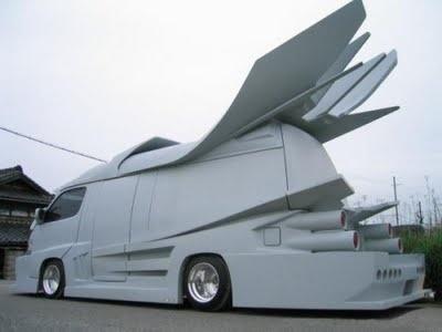 Japanese Gangster Vans