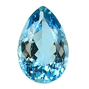 Aquamarine, from antiquarian jewelry most likely from Santa Maria, Brazil, is 37.60 carats (29.9 x 19.6 x 12.2 mm)