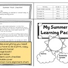 slide with this Printable Summer Review Common Core Workbook- Super ...