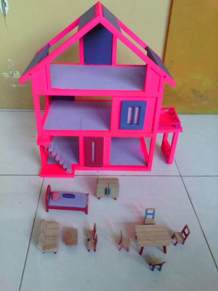 Miniatur rumah dll