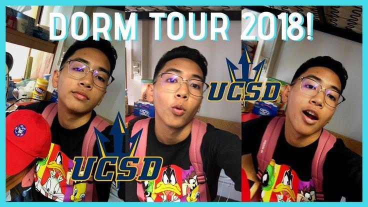 COLLEGE DORM ROOM TOUR 2018! (UCSD Freshman Edition) | Cara / menino