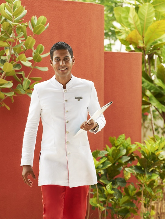 Our Wine & Dine Team is awaiting you in Sofitel So Mauritius! All uniforms are designed by Kenzo Takada!