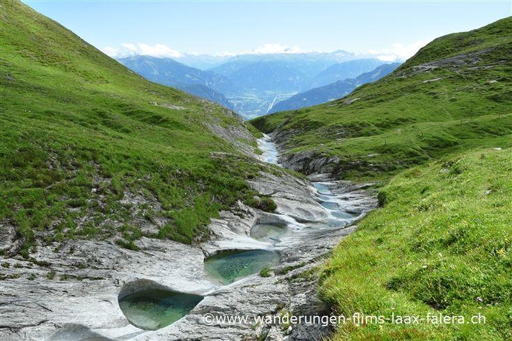 Gletschermühlen Trin val maliens