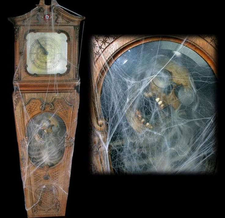 17 Best Images About Scary Clocks And Timepieces On