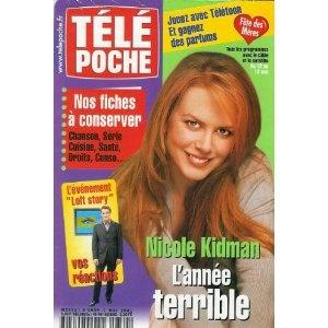 Nicole Kidman : l'année terrible, dans Télé Poche n°1839 du 07/05/2001 [couverture et article mis en vente par Presse-Mémoire]