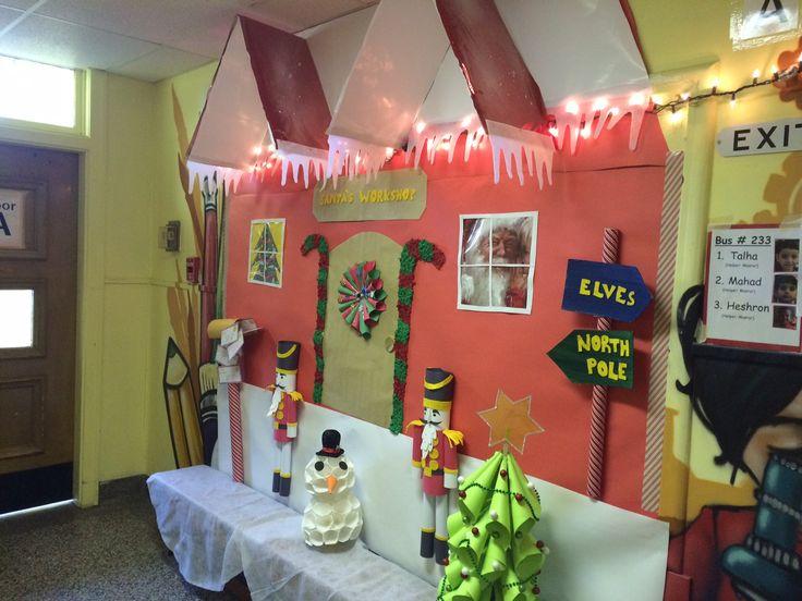 Santa's Workshop Bulletin board