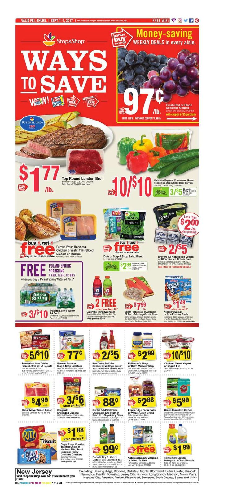 Stop and Shop Circular September 1 - 7, 2017 - http://www.olcatalog.com/grocery/stop-and-shop-circular.html