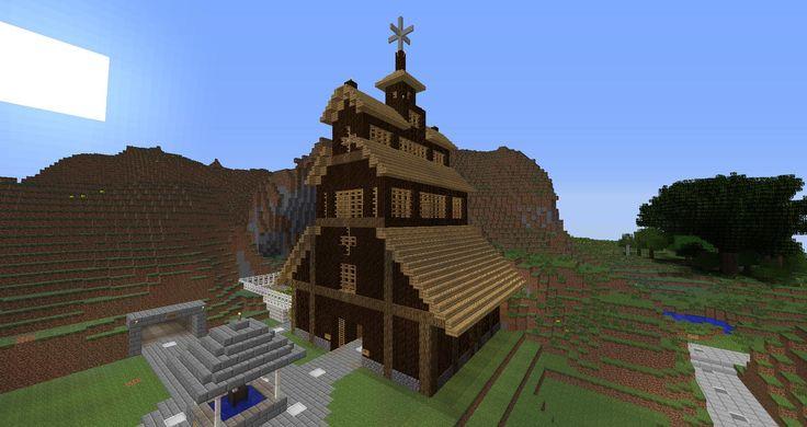 Cow Builds House Architecure