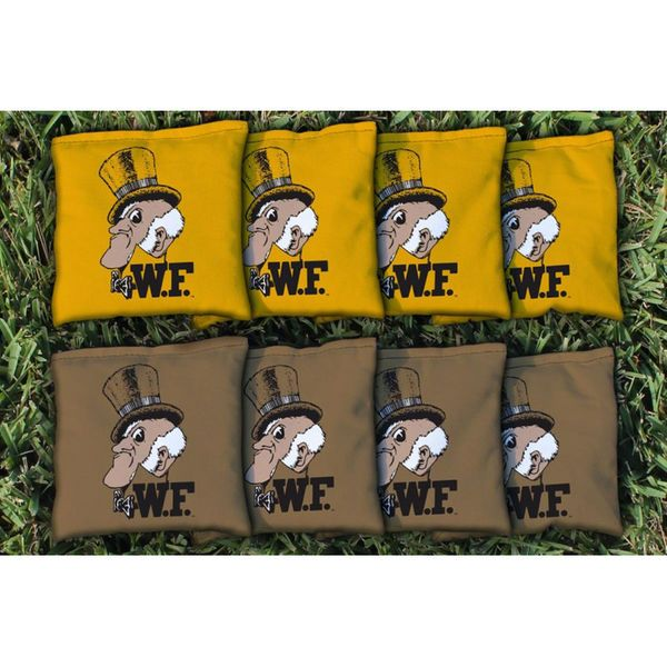 Wake Forest Demon Deacons College Vault Replacement All-Weather Cornhole Bag Set - $49.99