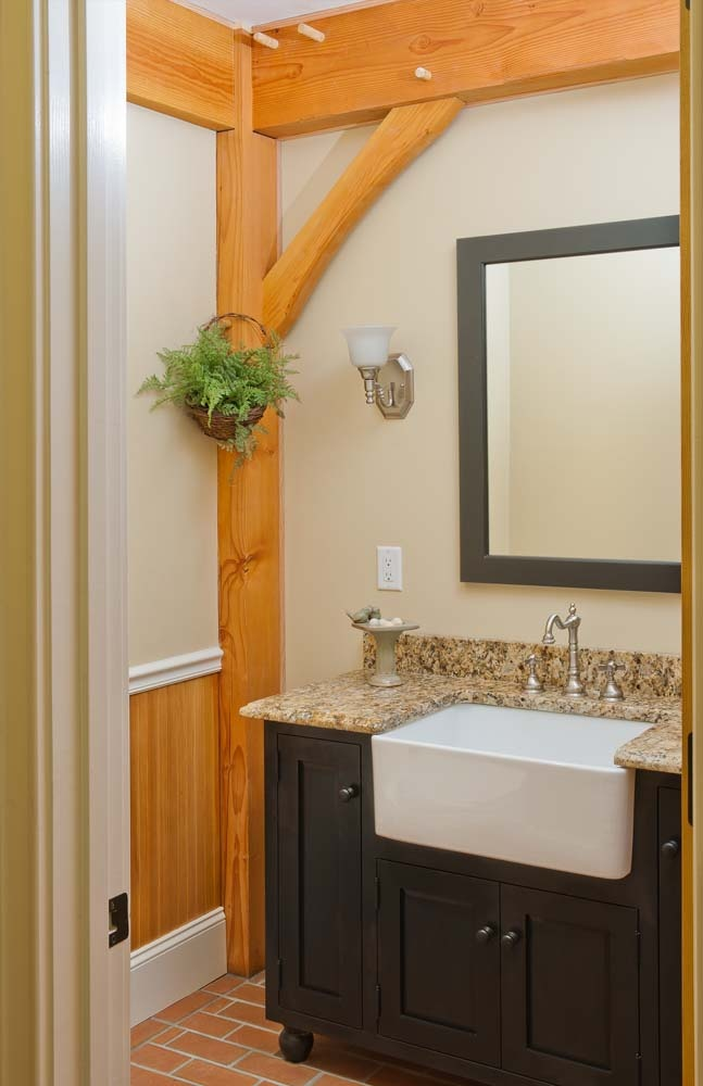 Custom bath cabinetry 72