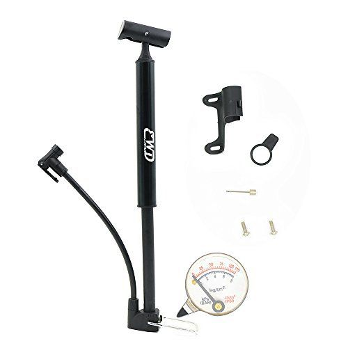 Product review for Mini Bike Pump with Gauge, EASTWILD Portable Bicycle Floor Pump for Presta & Schrader Valve & Sports Ball, Aluminum Alloy Bicycle pump Suitable for BMX, Road, & Mountain Bikes - 130 PSI Capacity - As you know it's a mini bike pump with pressure gauge, it's simple but not simple. Simple to use • You will know how to use it when you see it, so simple. And you can switch between Schrader to Presta valves easily.  Comfortable to use • Perfect des