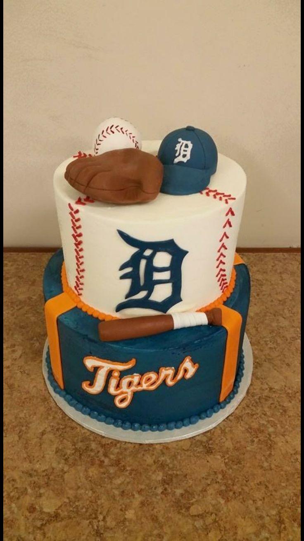 Detroit Tigers Cake! Bella Birches-Flushing, MI