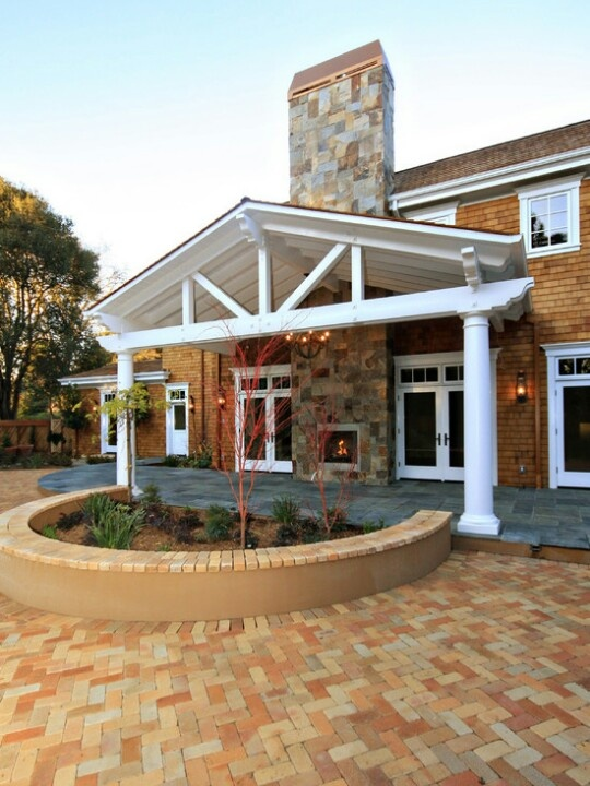 78 Images About Gable End Patio On Pinterest Pool
