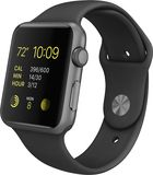 Buy Apple  Apple Watch Sport 42mm Space Gray Aluminum Case  Space Gray Sports Band