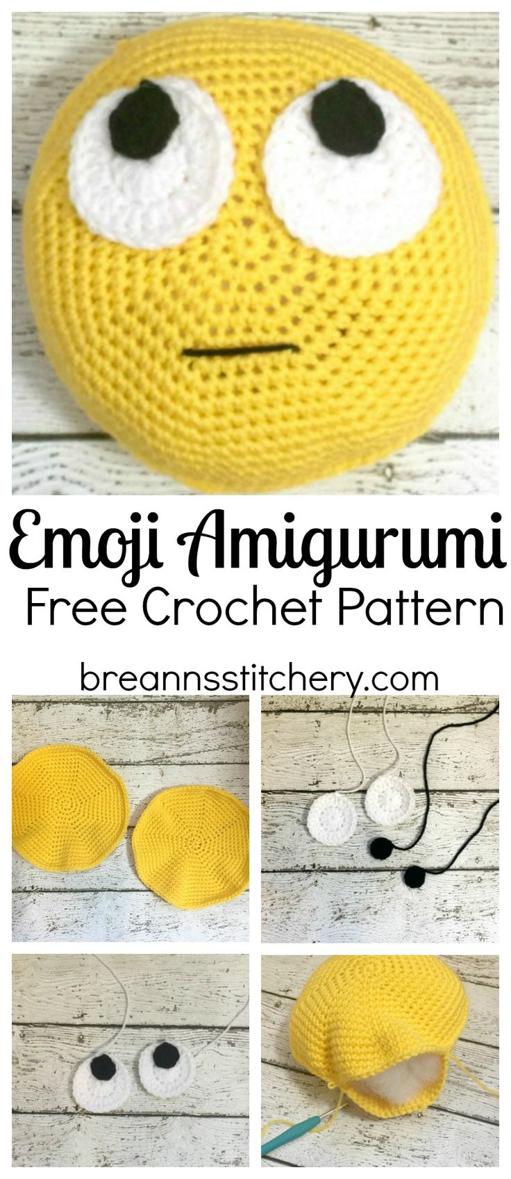 This Emoji Amigurumi Pattern is an easy pattern for a beginner level amigurumi. I am by no means an expert or even seasoned amigurumi crocheter and I found this emoji very doable. I ended up making three of these little stuffies! It was a fun weekend project. This pattern is available as an inexpensive, clearly …