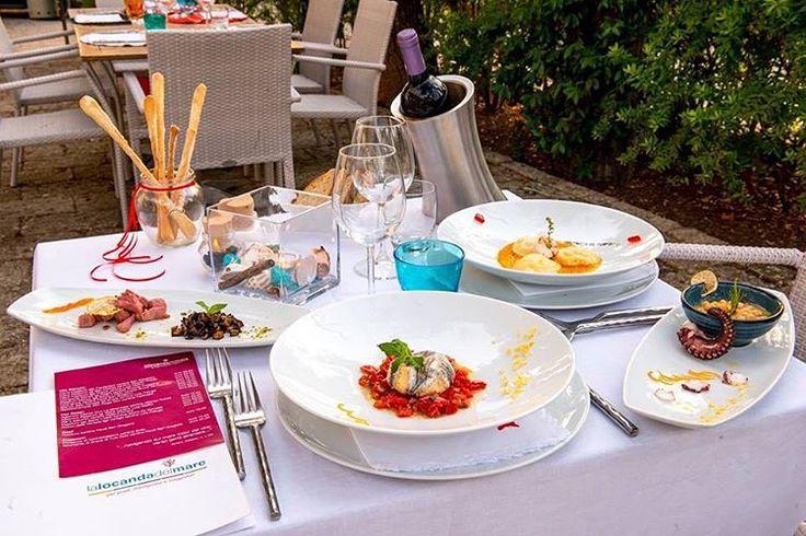 Ready for #Lunch!! ••• #locandadelmare #paestum #foodie #foodgram #foodporn…